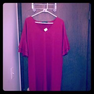 Red Akira Dress - Large (NWT)